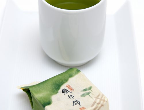 Japanese confectioneries & green tea