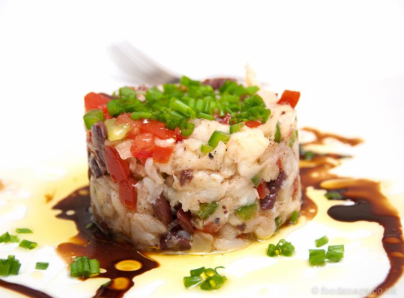Salt cod salad