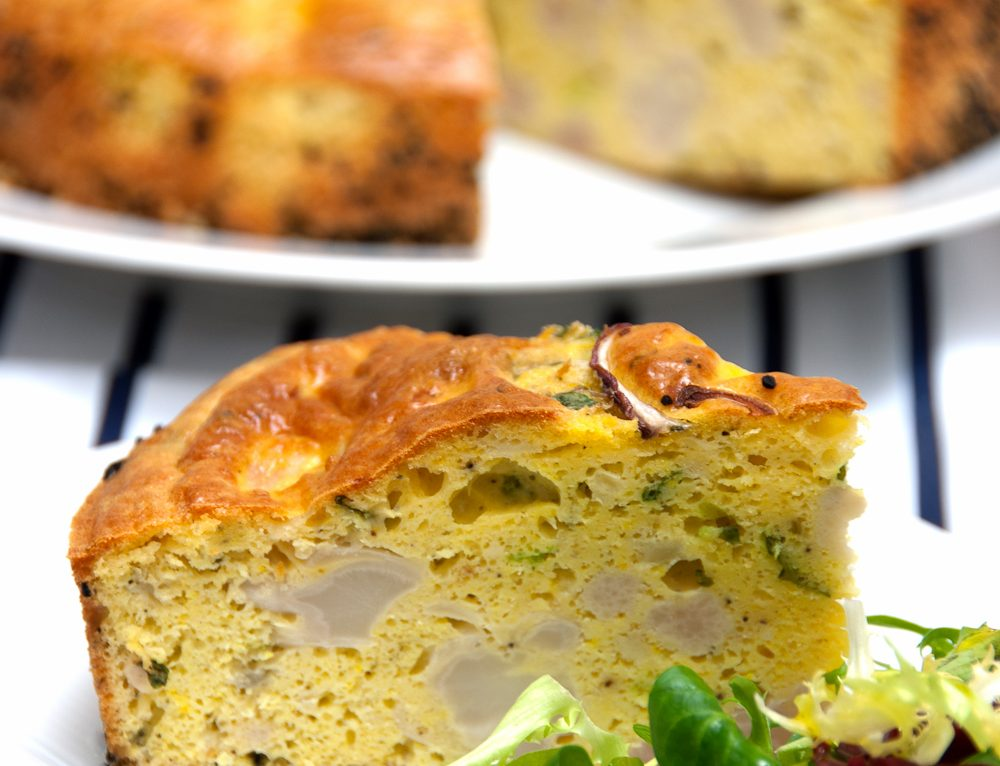 Ottolenghi's cauliflower cake recipe