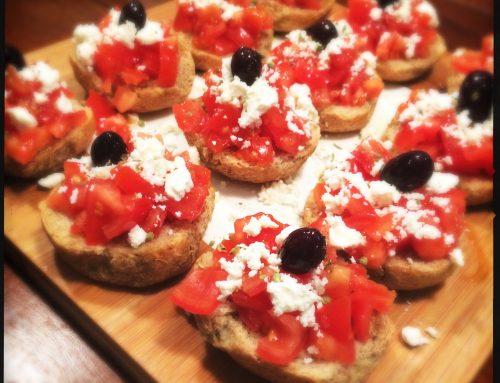 Olive oil tasting and a taste of Greece